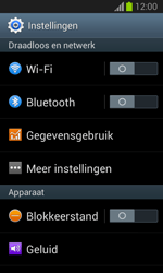 Samsung S7390 Galaxy Trend Lite - Internet - Désactiver du roaming de données - Étape 4