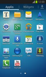 Samsung I8260 Galaxy Core - Messagerie vocale - Configuration manuelle - Étape 3