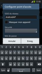 Samsung Galaxy Grand 2 4G - Internet et connexion - Partager votre connexion en Wi-Fi - Étape 7