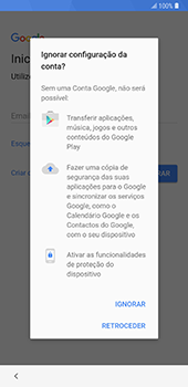 Samsung Galaxy Note 8 - Android Oreo - Primeiros passos - Como ligar o telemóvel pela primeira vez -  10