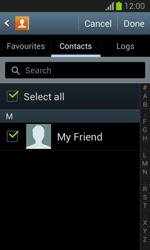 Samsung S7390 Galaxy Trend Lite - E-mail - Sending emails - Step 7