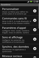 HTC A6262 Hero - Messagerie vocale - Configuration manuelle - Étape 4