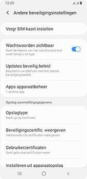 Samsung galaxy-a8-2018-sm-a530f-android-pie - Beveiliging en ouderlijk toezicht - Hoe wijzig ik mijn SIM PIN-code - Stap 6