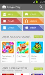 Samsung I8190 Galaxy S III Mini - Aplicativos - Como baixar aplicativos - Etapa 4