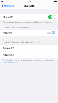Apple iPhone 8 Plus - iOS 13 - Bluetooth - connexion Bluetooth - Étape 8