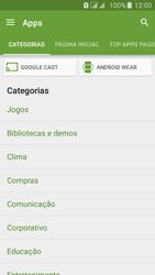 Samsung Galaxy J5 - Aplicativos - Como baixar aplicativos - Etapa 6