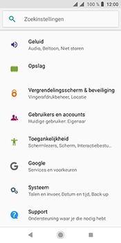 Sony xperia-l3 - Beveiliging en privacy - maak een backup met je account - Stap 4