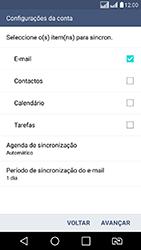 LG K8 - Email - Como configurar seu celular para receber e enviar e-mails - Etapa 9