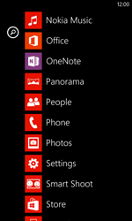 Nokia Lumia 720 - Voicemail - Manual configuration - Step 3