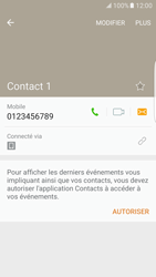 Samsung Galaxy S7 Edge - Contact, Appels, SMS/MMS - Ajouter un contact - Étape 8