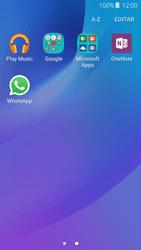 Samsung Galaxy J3 (2016) - Aplicações - Como configurar o WhatsApp -  4