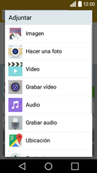 LG Leon - Mensajería - Escribir y enviar un mensaje multimedia - Paso 13