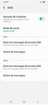 Samsung Galaxy A40 - SMS - configuration manuelle - Étape 9