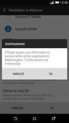 HTC Desire 816 - Aller plus loin - Restaurer les paramètres d'usines - Étape 7