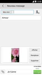 Bouygues Telecom Ultym 5 - Contact, Appels, SMS/MMS - Envoyer un MMS - Étape 17