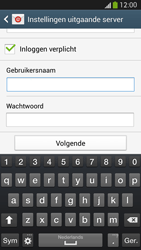 Samsung I9505 Galaxy S IV LTE - E-mail - e-mail instellen: IMAP (aanbevolen) - Stap 14