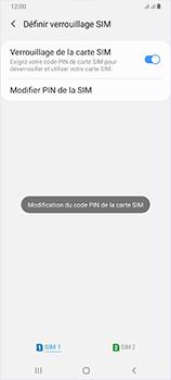 Samsung Galaxy A70 - Sécurité - modifier SIM PIN - Étape 12