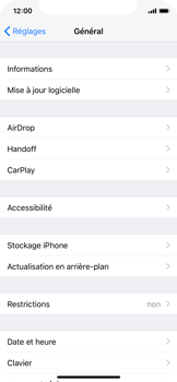 Apple iPhone X - Applications - Supprimer une application - Étape 4
