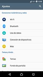 Sony Xperia XZ - Android Nougat - Red - Seleccionar el tipo de red - Paso 4