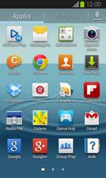 Samsung Galaxy Express - E-mails - Ajouter ou modifier un compte e-mail - Étape 3