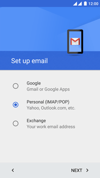OnePlus 2 - Email - Manual configuration - Step 8