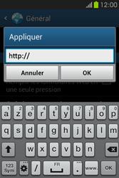 Samsung S6810P Galaxy Fame - Internet - configuration manuelle - Étape 26