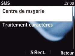 Nokia Asha 201 - SMS - Configuration manuelle - Étape 7