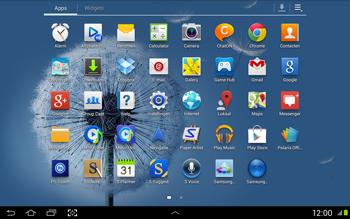 Samsung N8020 Galaxy Note 10-1 LTE - Internet - Uitzetten - Stap 3