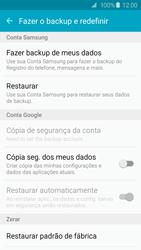Samsung Galaxy S6 - Funções básicas - Como restaurar as configurações originais do seu aparelho - Etapa 5