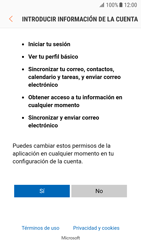 Samsung Galaxy S7 - Android Nougat - E-mail - Configurar Outlook.com - Paso 8