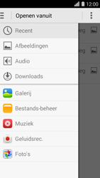 Huawei Ascend Y550 - E-mail - E-mails verzenden - Stap 12