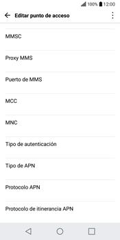 LG Q6 - Mensajería - Configurar el equipo para mensajes multimedia - Paso 10