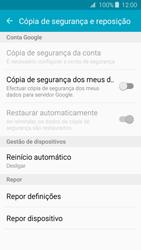 Samsung Galaxy J3 (2016) - Repor definições - Como repor definições de fábrica do telemóvel -  6