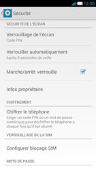 Bouygues Telecom Ultym 4 - Sécuriser votre mobile - Activer le code de verrouillage - Étape 11