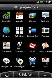 HTC A6262 Hero - MMS - hoe te versturen - Stap 2