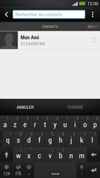 HTC One - Contact, Appels, SMS/MMS - Envoyer un SMS - Étape 6