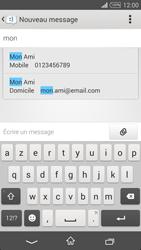 Sony Xpéria T3 - Contact, Appels, SMS/MMS - Envoyer un SMS - Étape 6