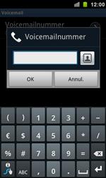 Samsung I9100 Galaxy S II - Voicemail - Handmatig instellen - Stap 7