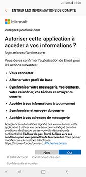 Samsung Galaxy Note 9 - E-mails - Ajouter ou modifier votre compte Outlook - Étape 9