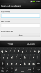 HTC One - E-mail - Account instellen (IMAP met SMTP-verificatie) - Stap 9