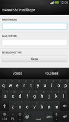 HTC One - E-mail - e-mail instellen: IMAP (aanbevolen) - Stap 9