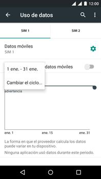 Motorola Moto X Play - Internet - Ver uso de datos - Paso 6