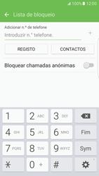 Samsung Galaxy S7 Edge - Chamadas - Como bloquear chamadas de um número -  8