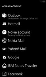Nokia Lumia 925 - Email - Manual configuration POP3 with SMTP verification - Step 6