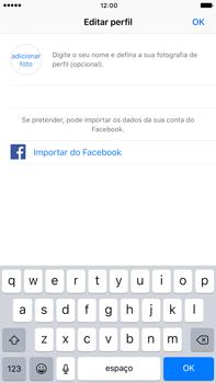 Apple iPhone 7 Plus - Aplicações - Como configurar o WhatsApp -  13