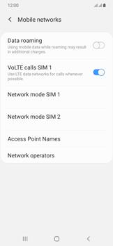 Samsung Galaxy A20e - Network - Manually select a network - Step 6