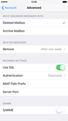 Apple iPhone 6s - E-mail - Manual configuration - Step 25