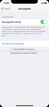 Apple iPhone X - Device maintenance - Back up - Étape 14