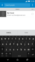 HTC One M8 - Email - Sending an email message - Step 6