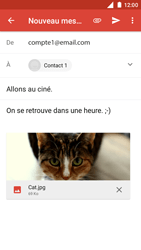 Nokia 5 - E-mail - Envoi d